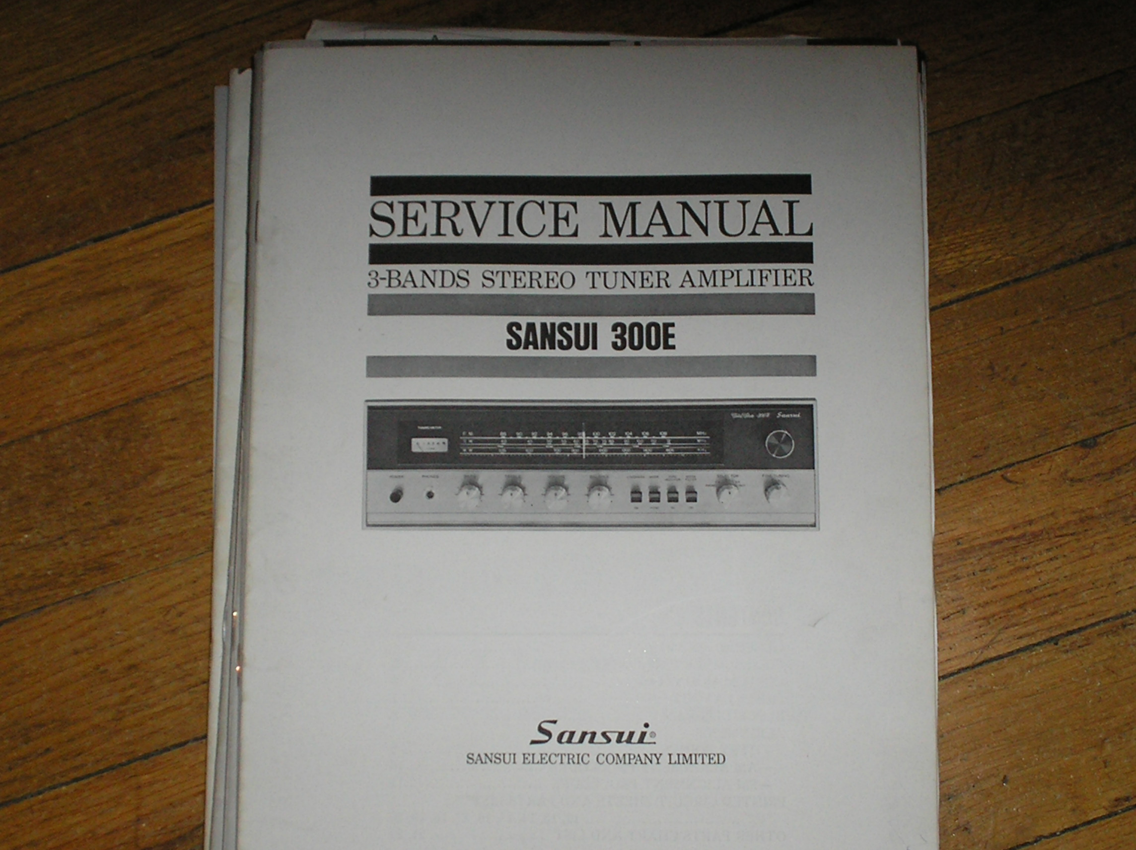 300L Tuner Amplifier Service Manual