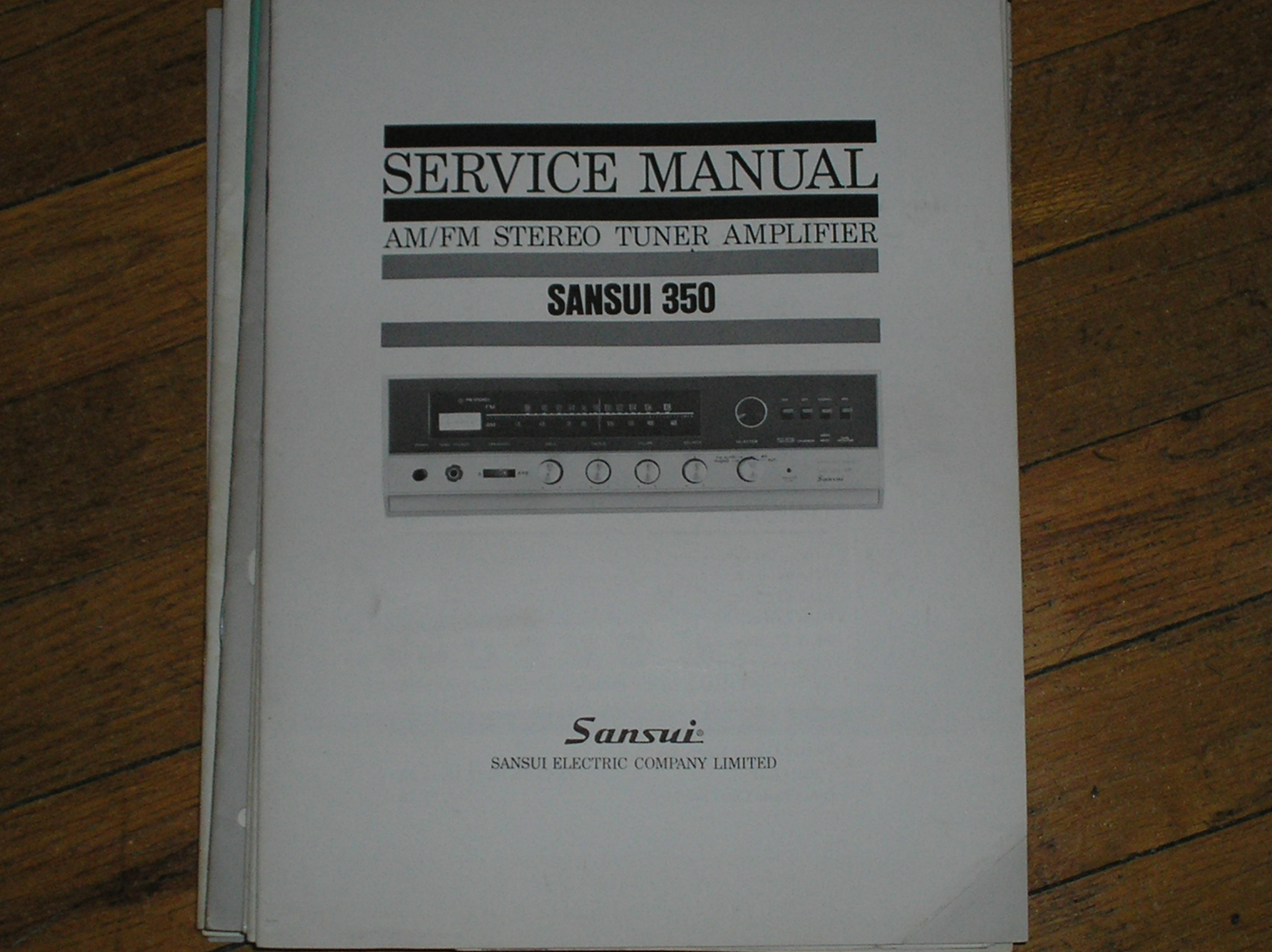 350 Tuner Amplifier Service Manual
