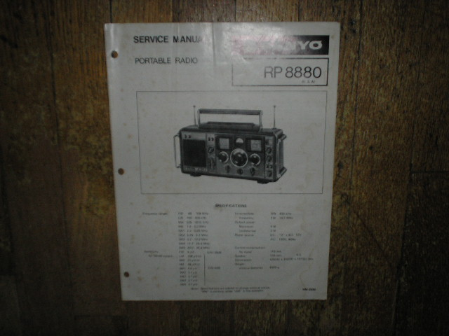 RP-8880 Multi-Band Radio Service Manual