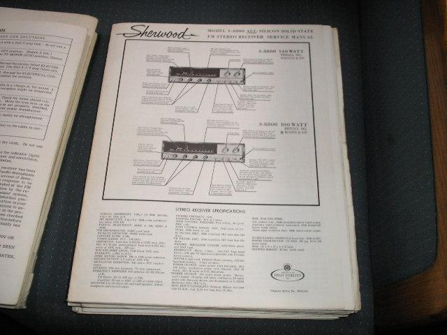 S-8800-FET Receiver Service Manual 140 Watt for Serial No. R706201 - R707999