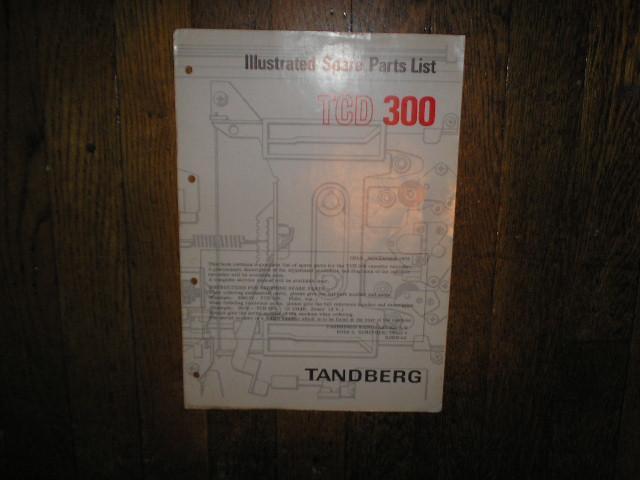TCD 300 Cassette Deck Parts Manual