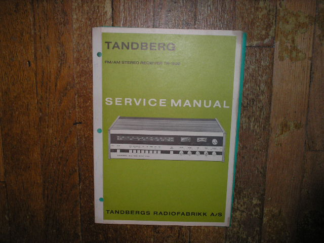 TR-1020 Receiver Service Manual
