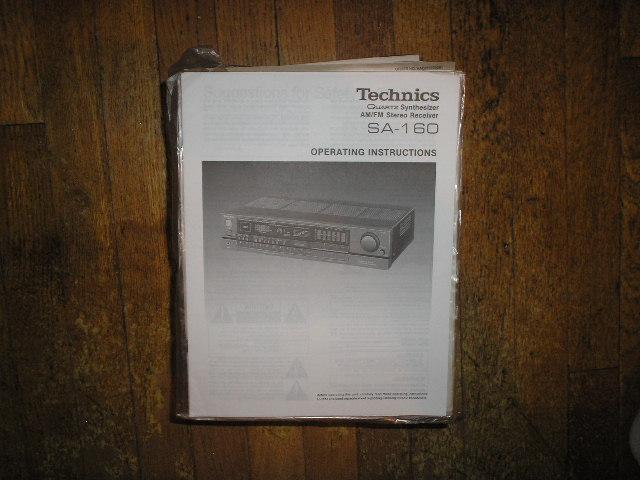 SA-160 Receiver Operator Manual