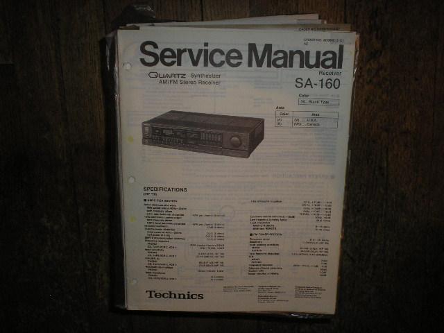 SA-160 Receiver Service Manual