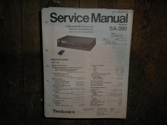 SA-390 Receiver Service Manual