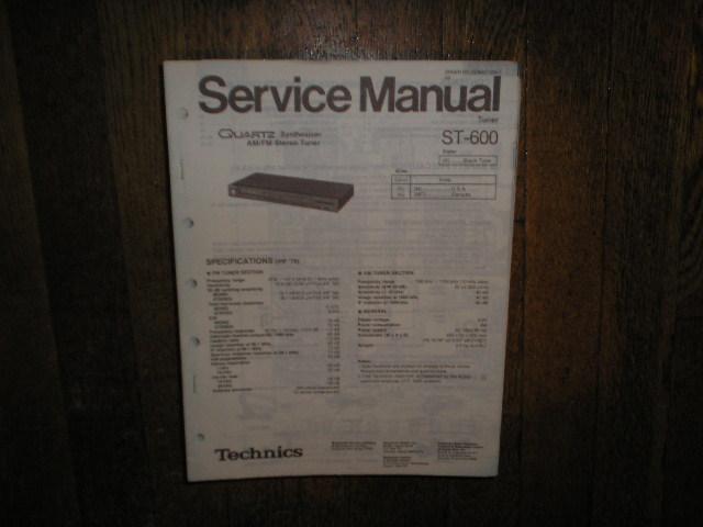 ST-600 AM/FM Tuner Service Manual