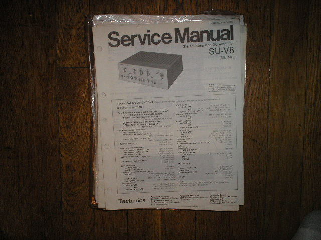 SU-V8 Amplifier Service Manual