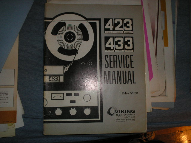 423 433 Service Manual with Schematic  Viking