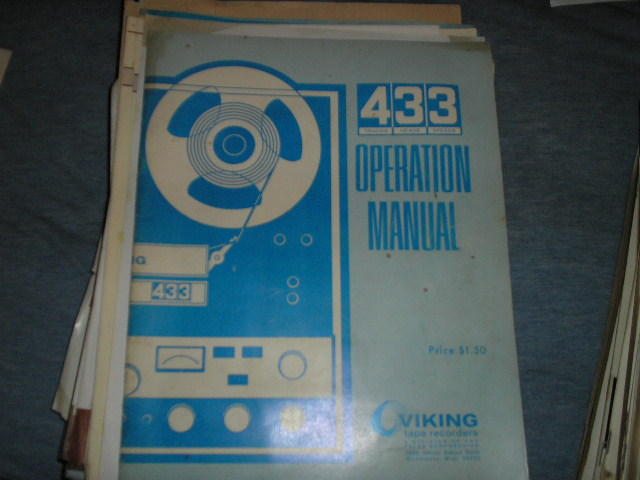 433 Operating Instruction Manual  Viking