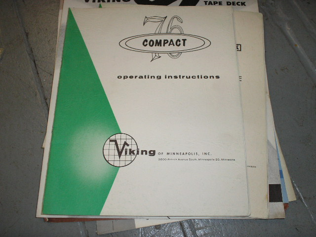 76 Compact Operating Instruction Manual  Viking