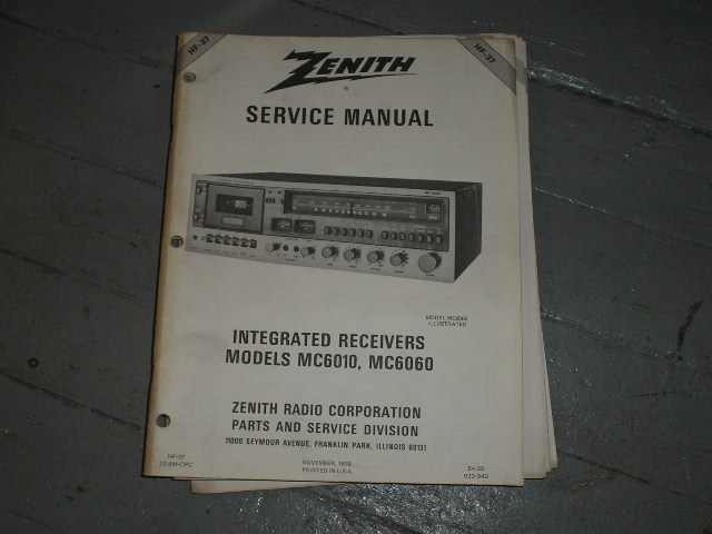 MC6010 MC6060 Stereo System Service Manual