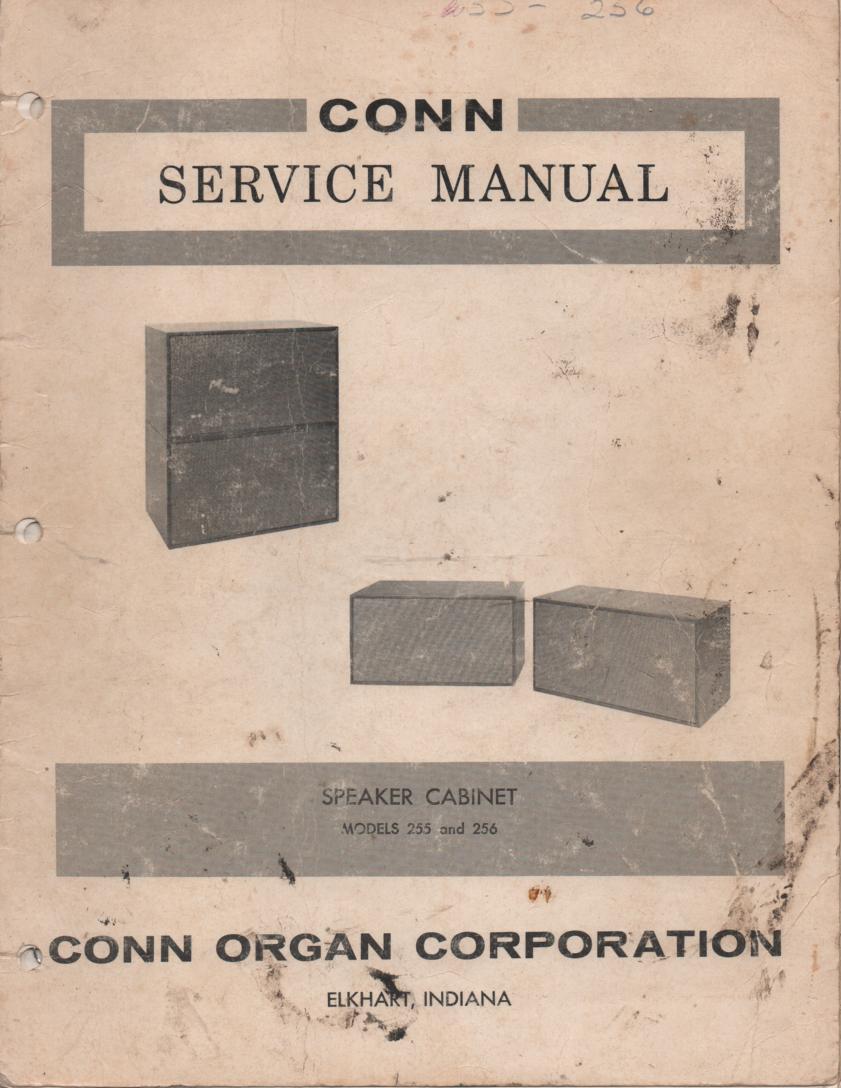 255 256 Speaker System Service Manual