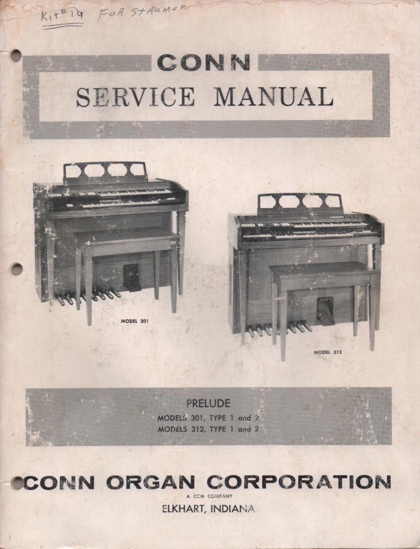 301 312 Type 1 & 2 Service Manual
