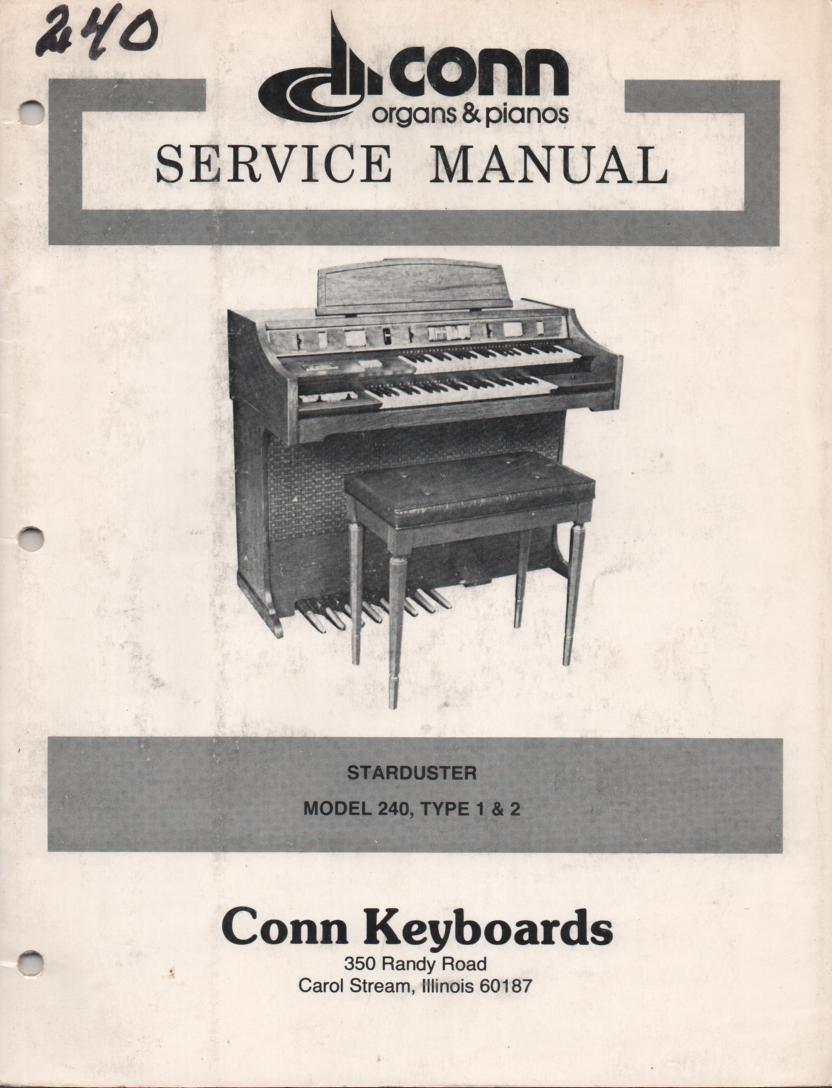 240 Starduster Type 1 2 Service Manual