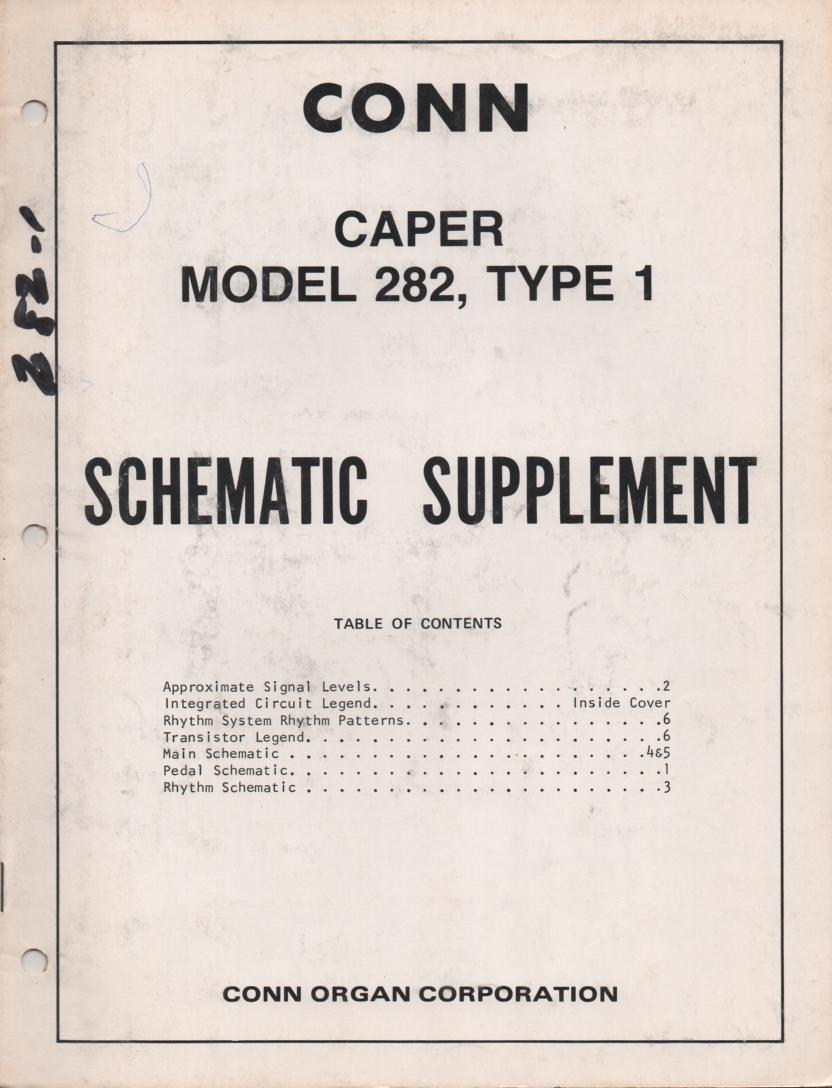 282 Caper Type 1 Service Manual 2