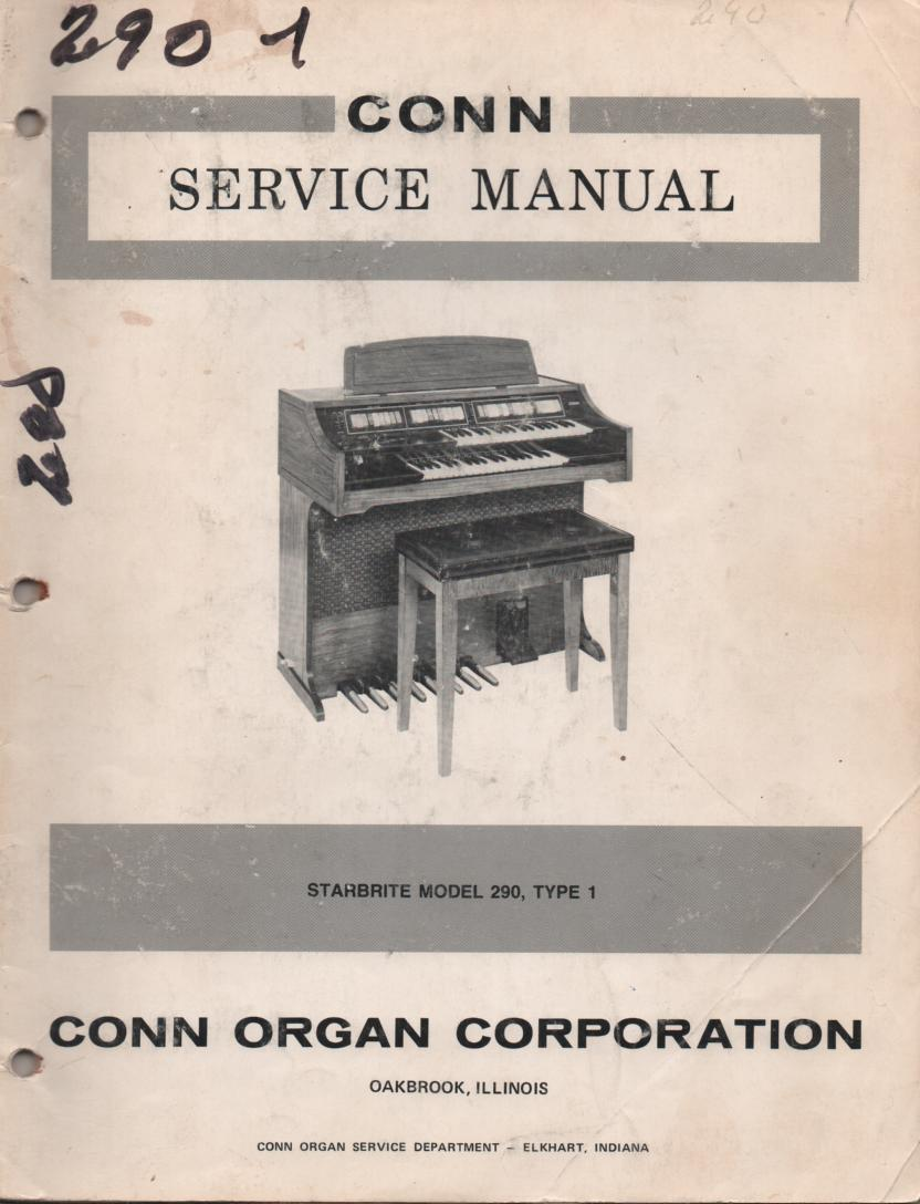 290 Starbrite Type 1 Service Manual