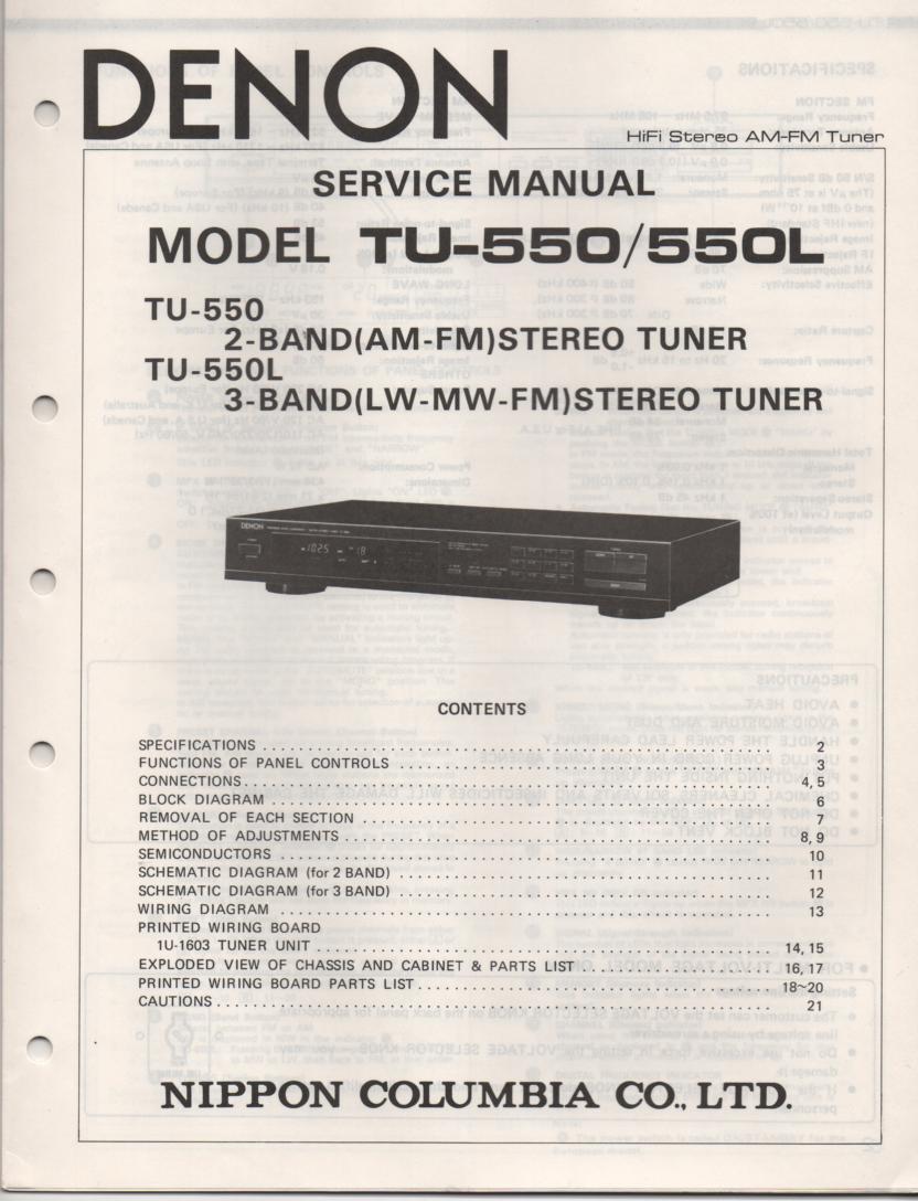 Denon Avr 600rd Manual