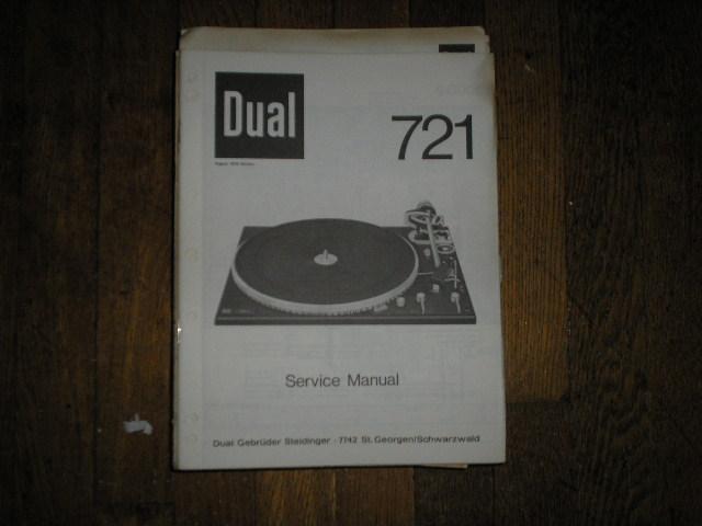 704 Turntable Service Manual