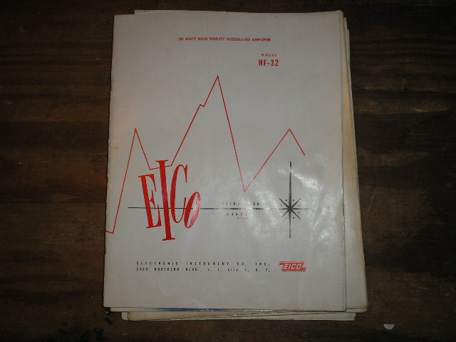 HF-32 High Fidelity 30 Watt Amplifier Service Instruction Manual