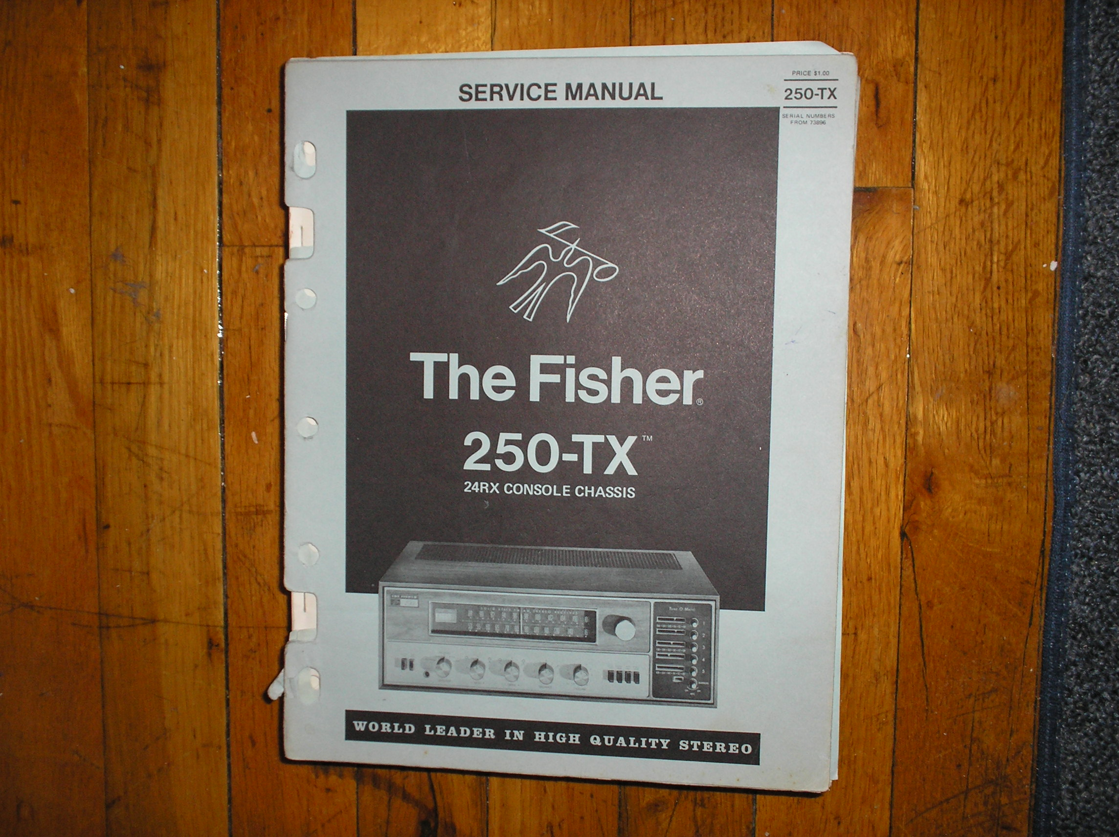 250-TX Receiver Service Manual