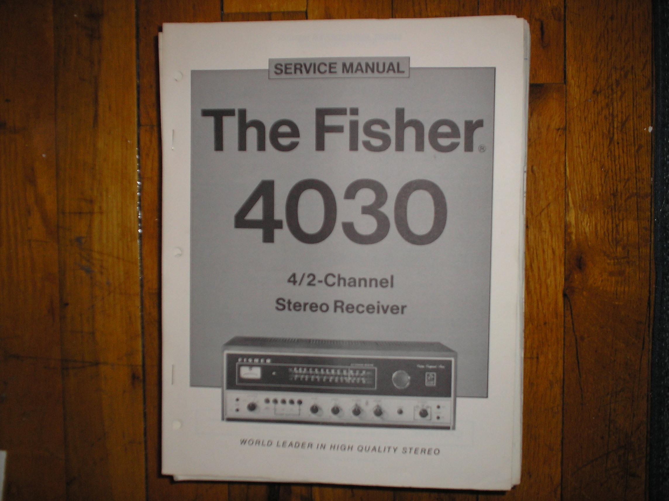 4030 Receiver Service Manual