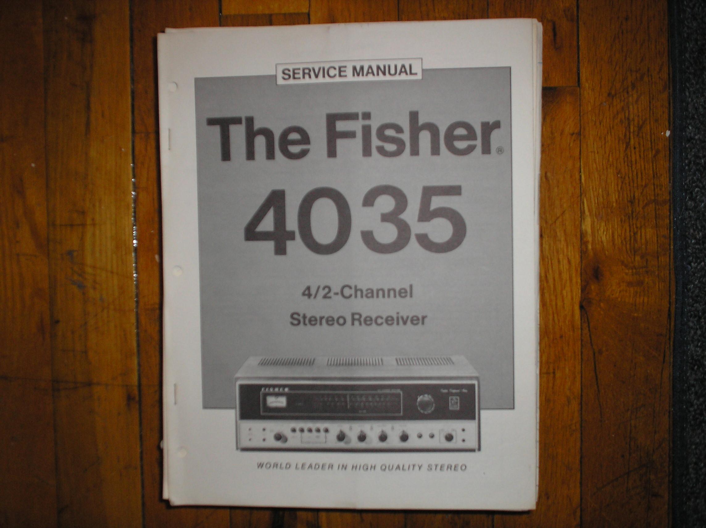 4035 Receiver Service Manual