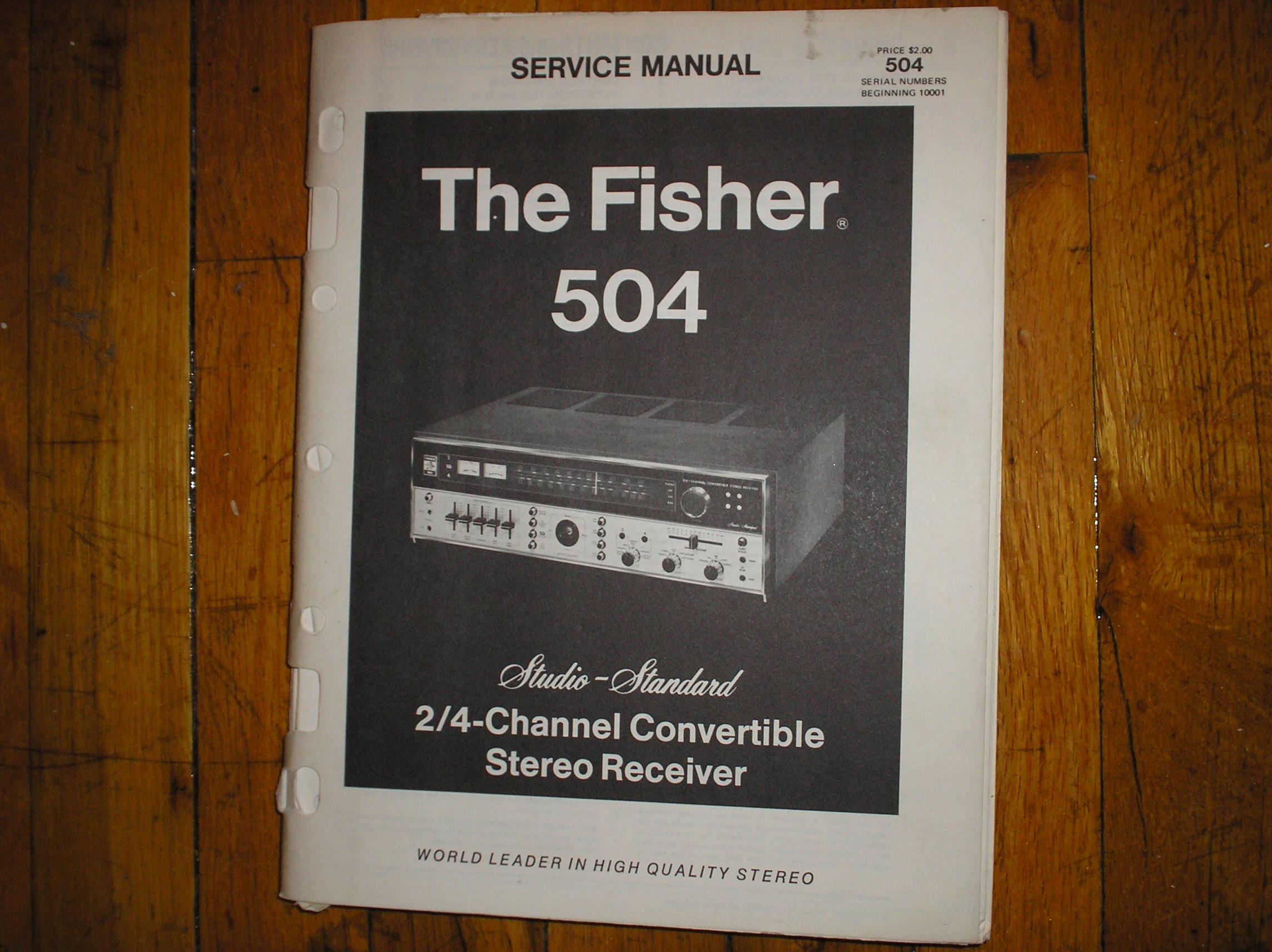 504 Receiver Service Manual