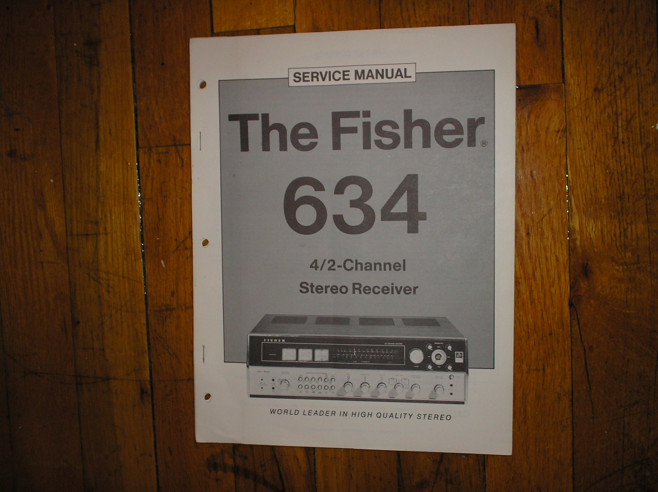 634 Receiver Service Manual  Fisher