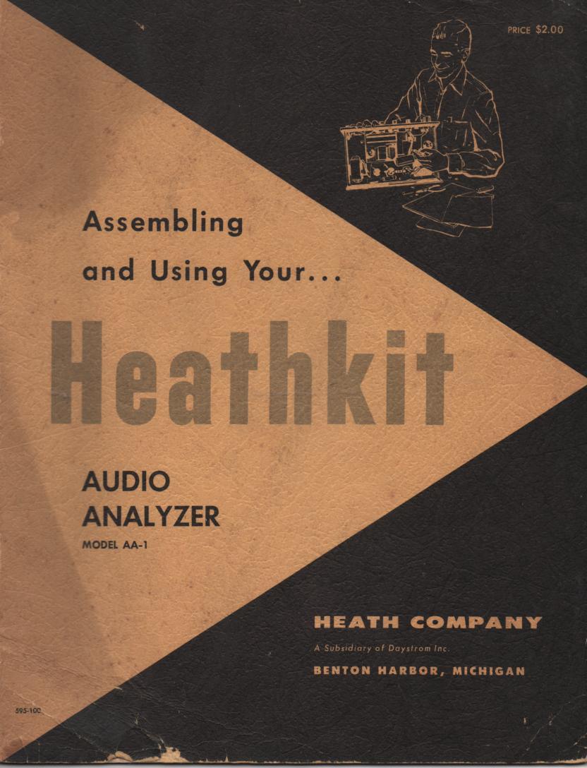 AA-1 Audio Analyzer Assembly Service Manual