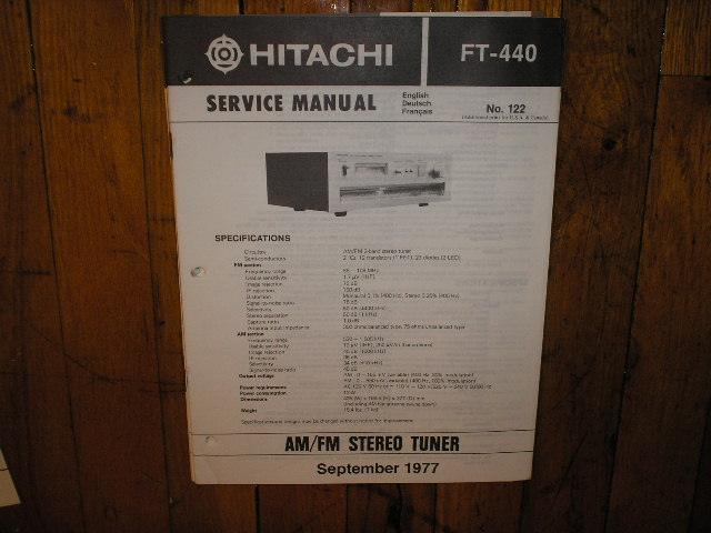 FT-440 Tuner Service Manual