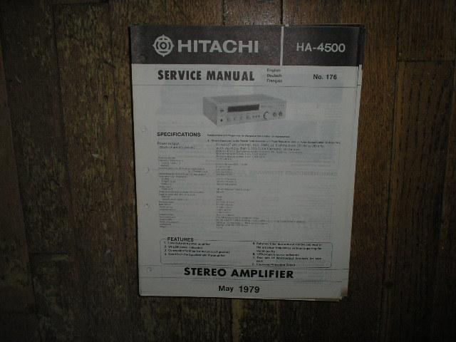 HA-4500 Amplifier Service Manual