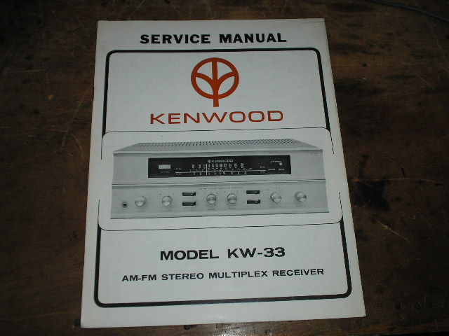 KW-33 Receiver Service Manual  Kenwood Receivers