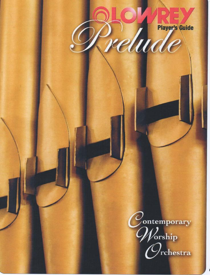 A300CC Prelude Organ Owners Manual..  74 pages