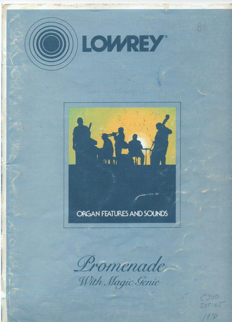lowrey c300 promenade organ owners manual lowrey organ service manual Lowrey Organ Owner's Manual