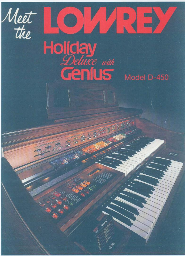 D450 Meet the Holiday Organ Owners Manual