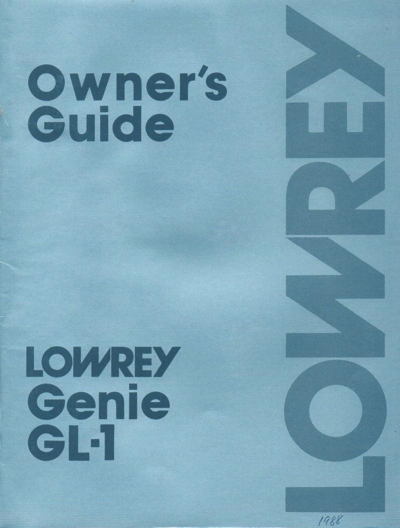 lowrey a200 encore organ owners manual lowrey carnival organ owners manual Magic Genie Lowrey Organ Manuals