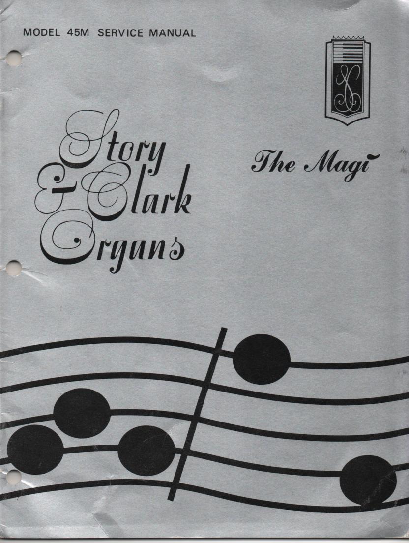 45M The Magi Organ Service Manual