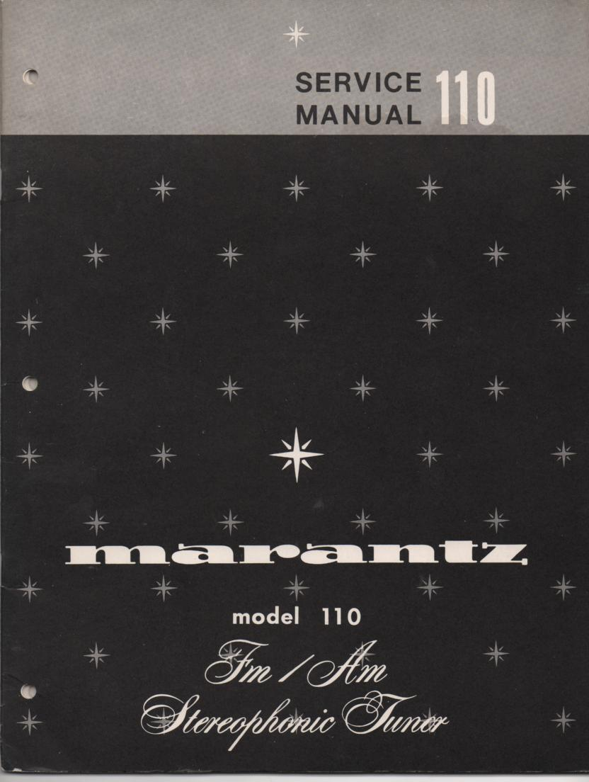 110 Tuner Service Manual