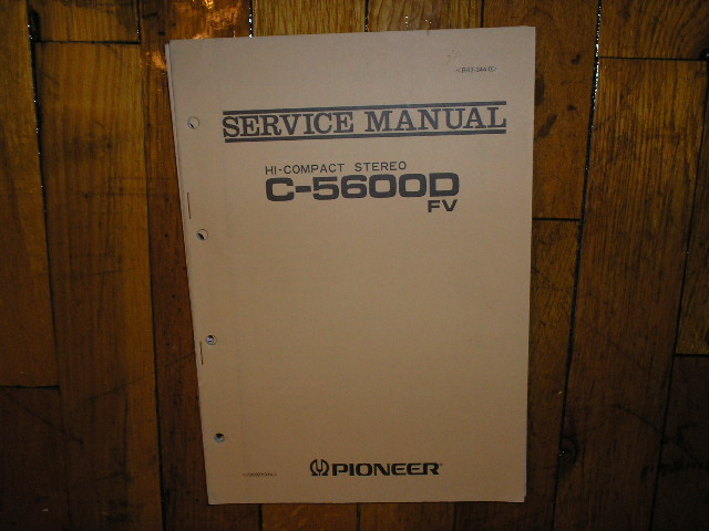 C-5600D C-5600D FV Stereo System Service Manual