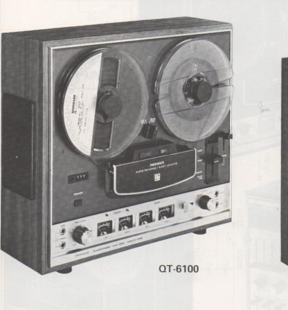 QT-6100 Reel to Reel Schematic Manual  PIONEER SCHEMATIC MANUALS