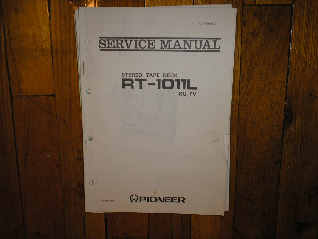 RT-1011L RT-1011L KU FV Reel to Reel Service Manual  Pioneer
