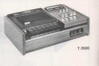 T-3500 Cassette Deck Schematic Only.  It does not contain parts lists, alignments,etc.  Schematics only