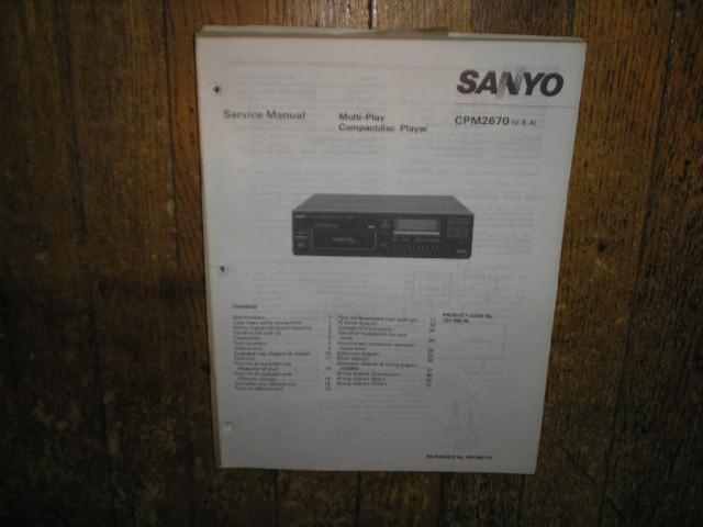 CPM2670 CD Player Service Manual