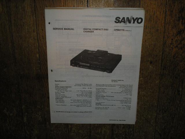 CPM2770 CD Player Service Manual