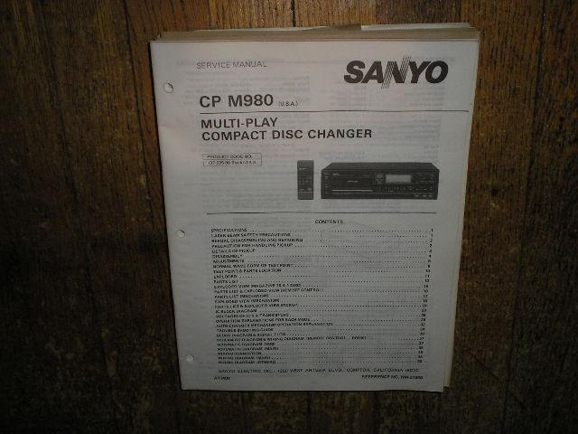 CPM980 CD Player Service Manual