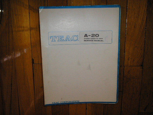 A-20 A-20S Cassette Deck Service Manual