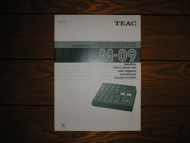 M-09 Audio Mixer Owners Manual