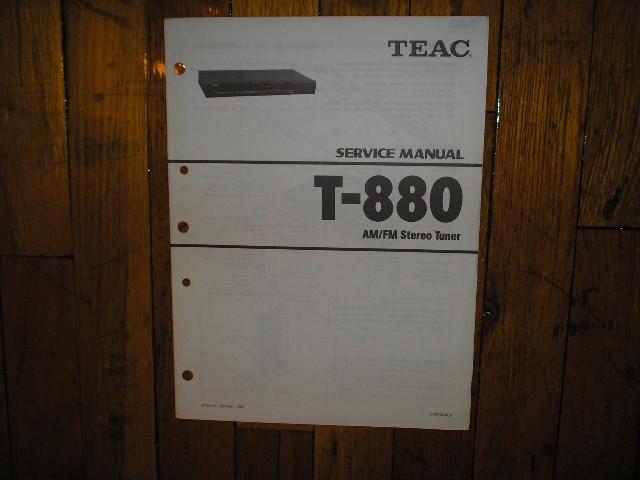 T-880 Tuner Service Manual