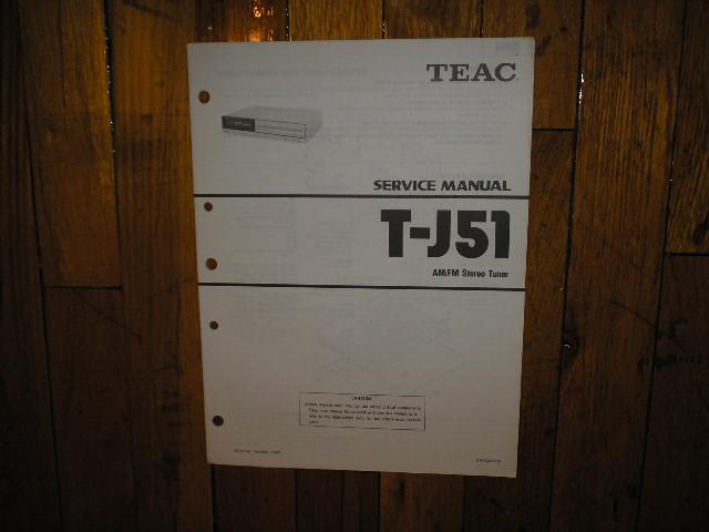 T-J51 Tuner Service Manual