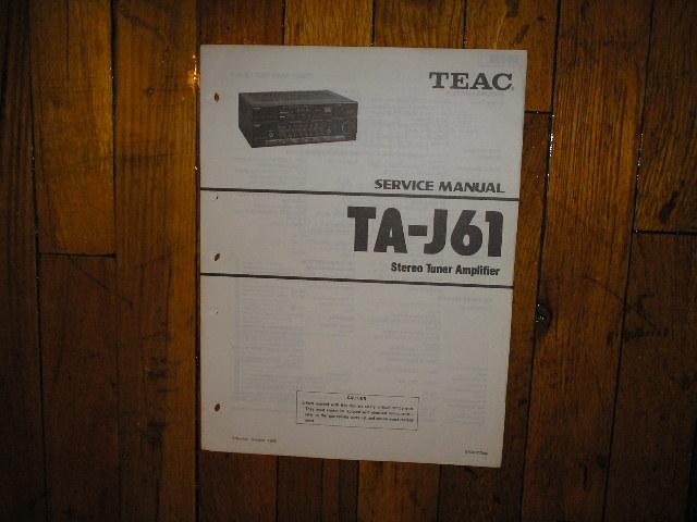 TA-J61 Tuner Service Manual